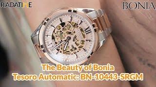 Review Bonia Tesoro BN-10443-SRG FREE Watch Winder