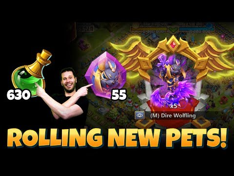 Opening New Mutant Pets With TONS Of Materials!