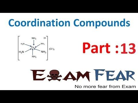 Chemistry Coordination Compounds part 13 (Valence bond theory) CBSE class 12 XII