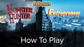 GoVenture Card Game - HOW TO PLAY