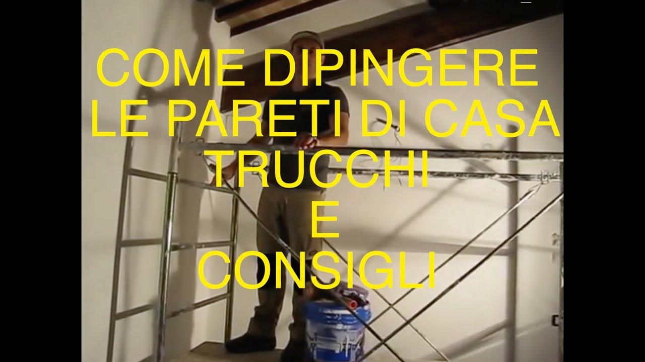 COME DIPINGERE LE PARETI DI CASA TRUCCHI E CONSIGLI PADOVA VICENZA VLOG TUTORIAL CASA  YouTube