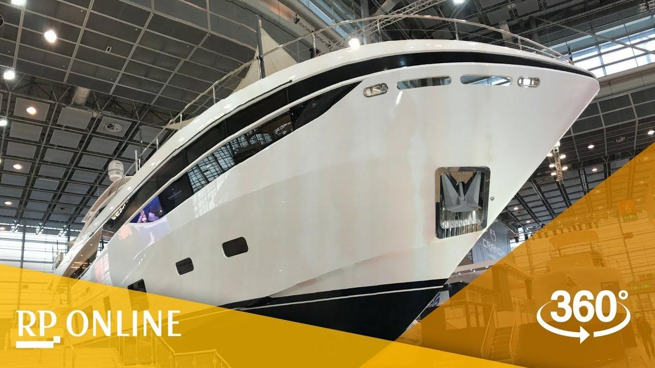 Superyachten innen  Boot 2018: Hier sehen Sie eine Superyacht von innen - in 360 Grad