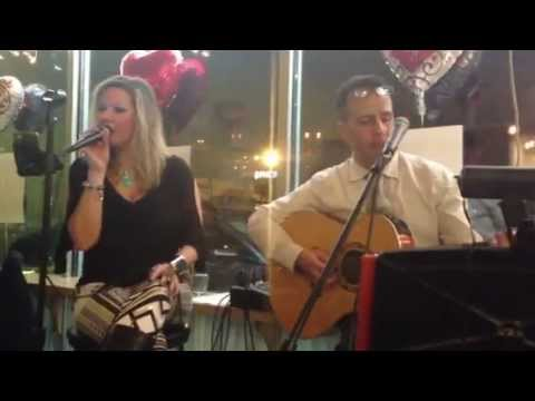 Elaine Tuttle & Ed Kuri perform Crazy for You by Adele at Cafe Savoy