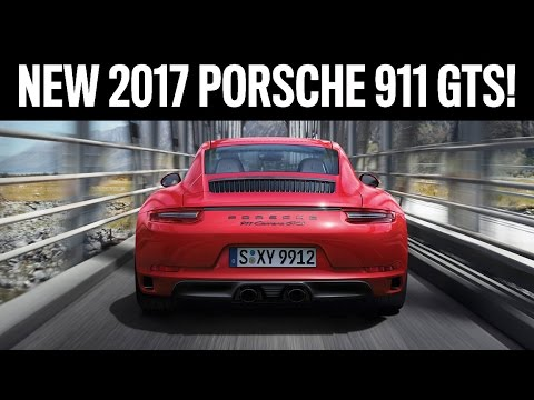 New 991.2 911 GTS Revealed! Let