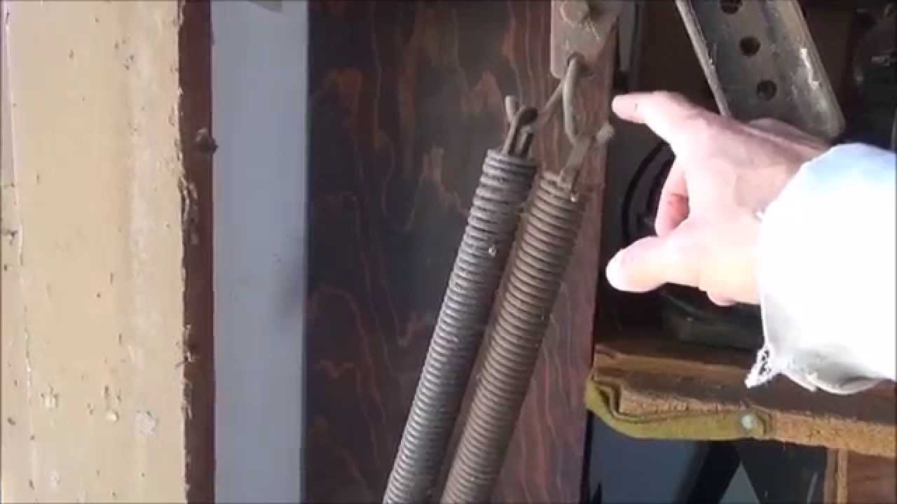 Dangerous Garage Door Springs Exposed Youtube