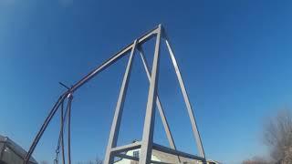 Ularning qo'llari bilan qishloq xo'jaligi texnikasi ta'mirlash uchun Gantry crane (yagona-qo'l Davit)