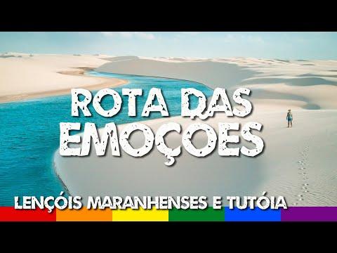 Rota das Emoções: Parte 1 - Maranhão, Lençóis Maranhenses e Tutóia