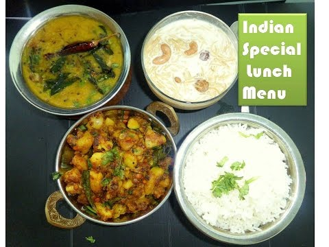 Indian Special Lunch Menu -1|Start to Finish | six Items under 1 hour | First time on youtube