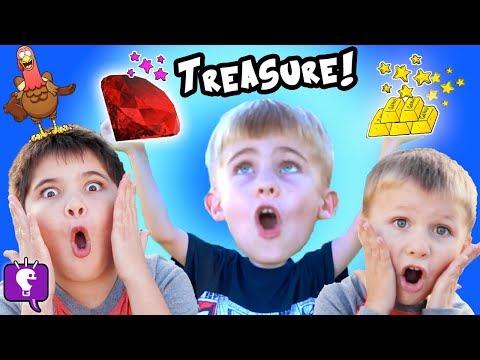 TURKEY TREASURE HUNT! GOLD GEMS, Scavenger Hunt Surprise! Precious Stones FUN HobbyKidsTV