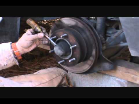 front brake pads rotor replacement toyota tacoma 1995 2004 funnycat tv. Black Bedroom Furniture Sets. Home Design Ideas