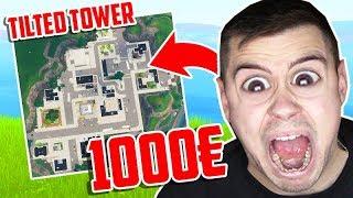 WER zuletzt TILTED TOWERS verlässt bekommt 1000€ in Fortnite ..