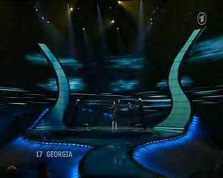 Eurovision 2008 Final  - Georgia, Gurtskaya, Peace Will Come