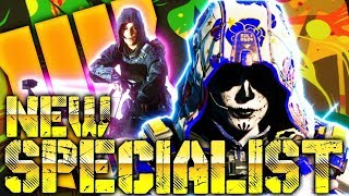 """New Specialist Character In Black Ops 4 """"THE OUTRIDER?"""""""