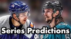 2019 NHL Playoff Predictions San Jose Sharks VS Colorado Avalanche