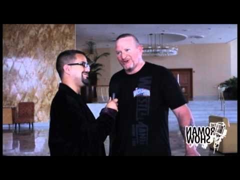 The Roman Show at Wrestle Reunion Interview WWE Superstar Road Dogg Jesse James