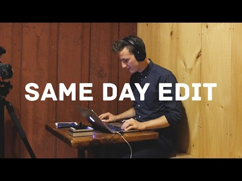 How to Shoot a Same Day Edit Wedding Film