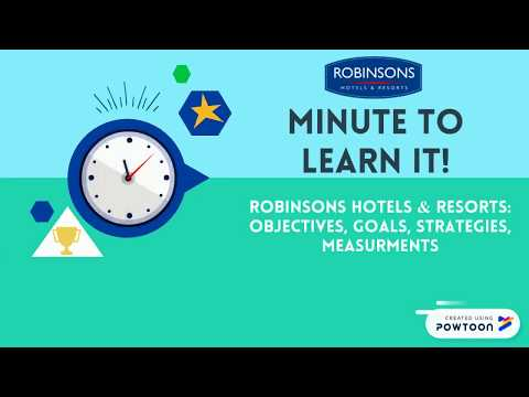 Robinsons Hotels & Resorts DREAMS 2024: OBJECTIVES