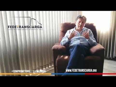 Arnulfo Cuervo. Vicepresidente Fedetranscarga