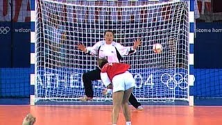 Denmark & Korea Battle For Olympic Handball Gold - Athens 2004 Olympics