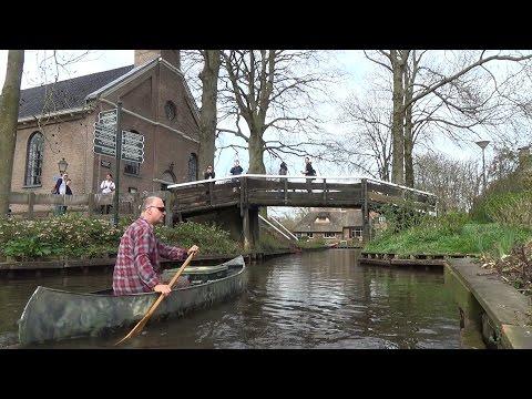 Canoe Spring Break (5 days canoe trip, Giethoorn, Netherlands)