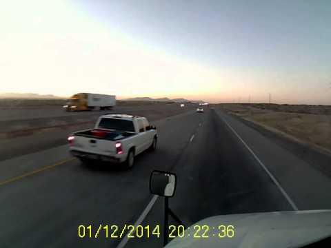 El Paso on the dash cam