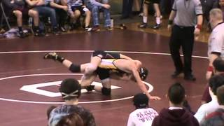 Dakota Wrestling Vs. Lewin/stockton  (132): Jj Wolfe Vs. Dustin Chapman