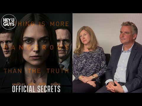 Katharine Gun & Martin Bright Interview - Official Secrets