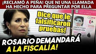 DESESPERADA! Rosario ahora dice que FGR usó pruebas falsas para detenerla y hasta subió las fotos!