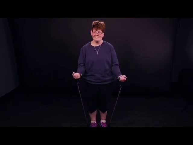 Adaptive Exercises: Arm Curl