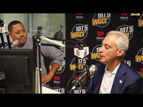 Chicago Morning TakeOver: Chicago Mayor Rahm Emanuel