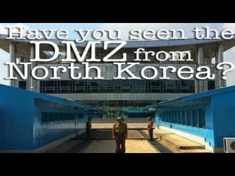 North Korea Behind Scenes DMZ Border North South Barrier Breaking News November 2017