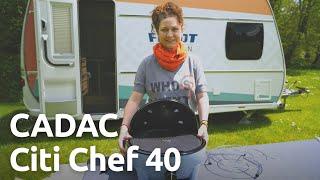 CADAC Citi Chef 40 Camping-Grill - Unboxing, Vorstęllung und Zubehör
