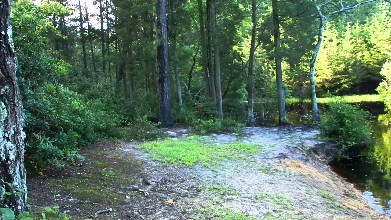 Hawkins bridge campground group campsties youtube for Wharton state forest cabins
