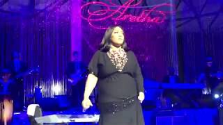 tasha page lackhart at a peoples tribute to the queen tribute concert for aretha franklin