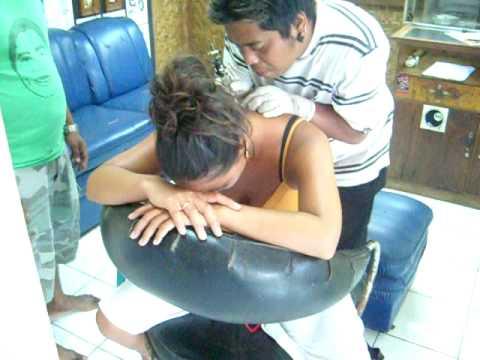 Bali 2008  Bibiane tatoo Kuta