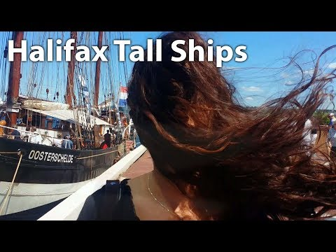 Sailing Home To Halifax- Tall Ships 2017! [ Ep 25- Sailing Nova Scotia ⛵]
