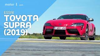 Essai Toyota Supra (2019) - Freiner n'est pas tricher