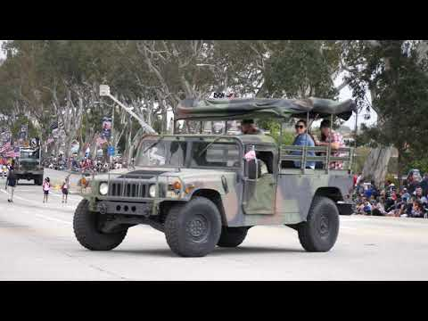 Torrance Armed Forces Parade 2018 in 4K