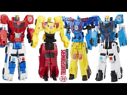 BEST TRANSFORMERS ROBOTS IN DISGUISE CRASH COMBINER ROBOTS TO VEHICLE, COMBINER FORCE TOY REVIEW