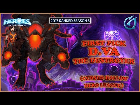 Grubby | Heroes of the Storm - First Pick D.VA the Destroyer - HL 2017 S3 - Cursed Hollow