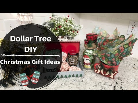 CHRISTMAS 2019 | DIY DOLLAR TREE GIFT IDEAS | LAST MINUTE AFFORDABLE GIFT IDEAS
