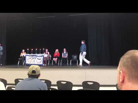 Honor Society induction - Cabot Freshman Academy