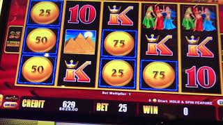 Cleopatra $45/Spin - Sahara Gold $25/Spin With Jackpot and Bonus - High Limit