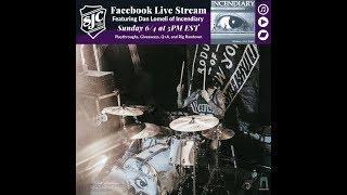 SJC Livestream Drum Playthrough
