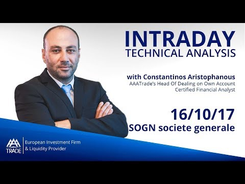 Intraday Technical Analysis: 16/10/17 SOGN societe generale
