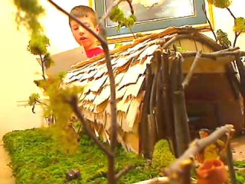 Eastern Woodland Indians Longhouse