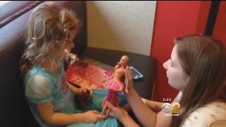 Chemotherapy Barbies Help Give Young Cancer Patients An Emotional Lift