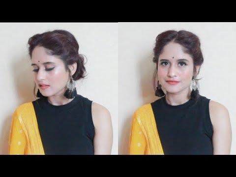 Soft Navratri / Durga Puja Makeup Tutorial | Anukriti Lamaniya