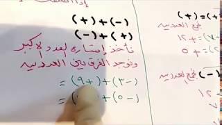 قواعد الاشارات من اساسيات الرياضيات