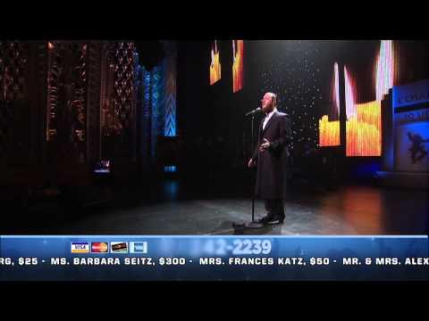 Cantor Yaakov Lemer Sings Avinu Malkeinu On The Chabad Telethon